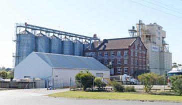 Exterior shot of the Bendigo industrial area