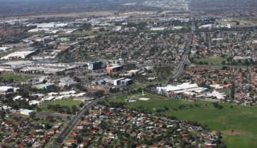 Aerial photo of the Northmeadows Strategic Site in Broadmeadows