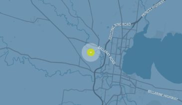 Western Geelong Growth Area precinct map, described below