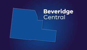 Map tile of Beveridge Central