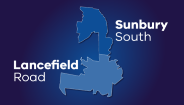 Map tile of Sunbury South and Lancefield Road