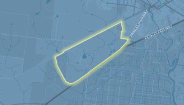 Map tile of Werribee Junction