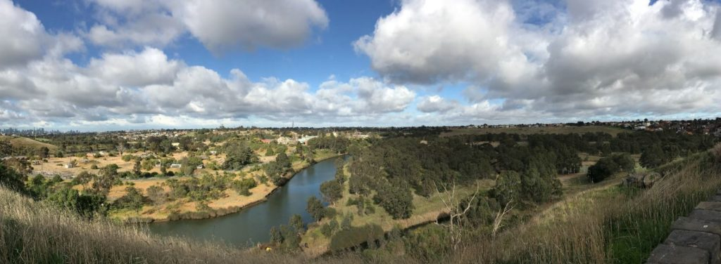 Wide shot of the Defence Site Maribyrnong