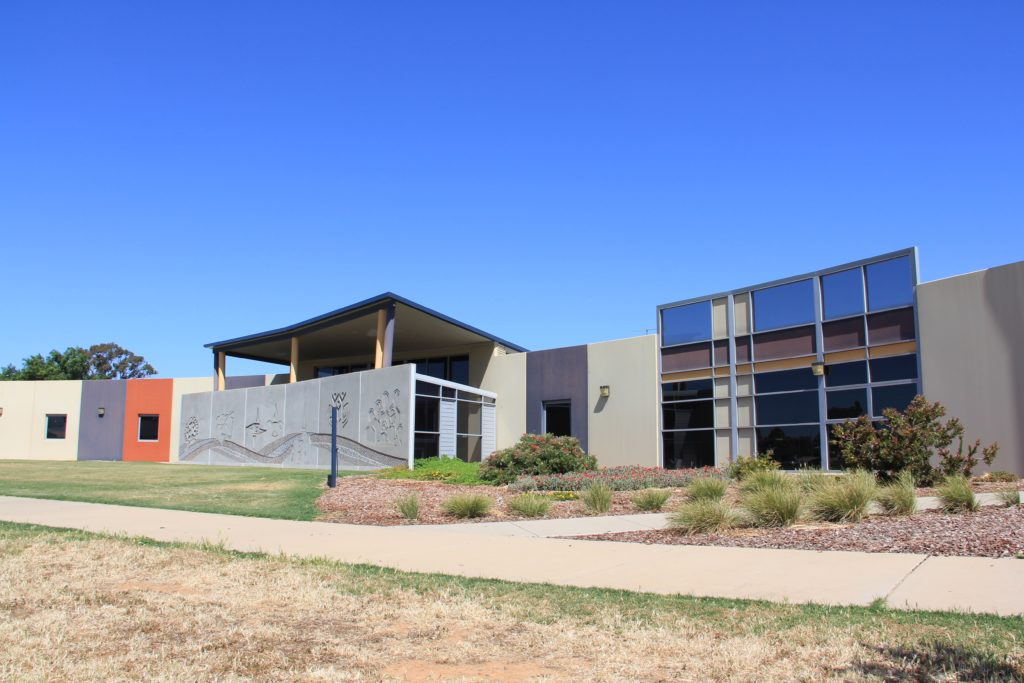 Exterior facade of the Shire of Campaspe office
