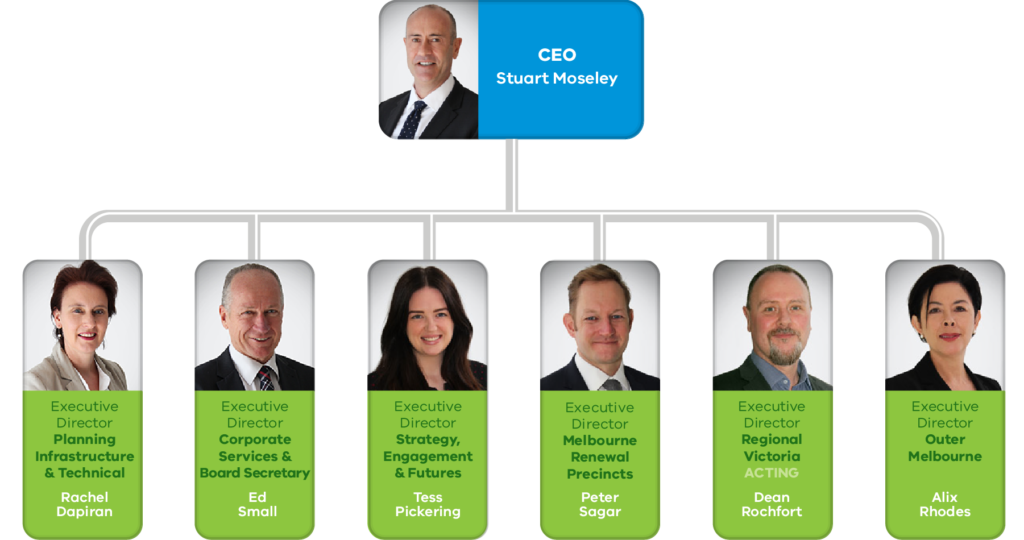 The VPA Leadership team, described above