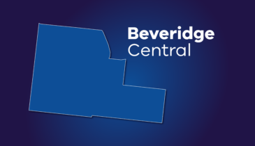 Map tile of Beveridge Central