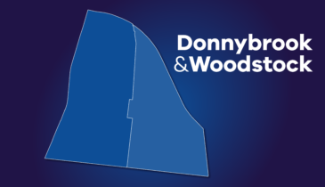 Map tile of Donnybrook-Woodstock