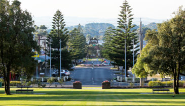 External image of parklands in Wonthaggi