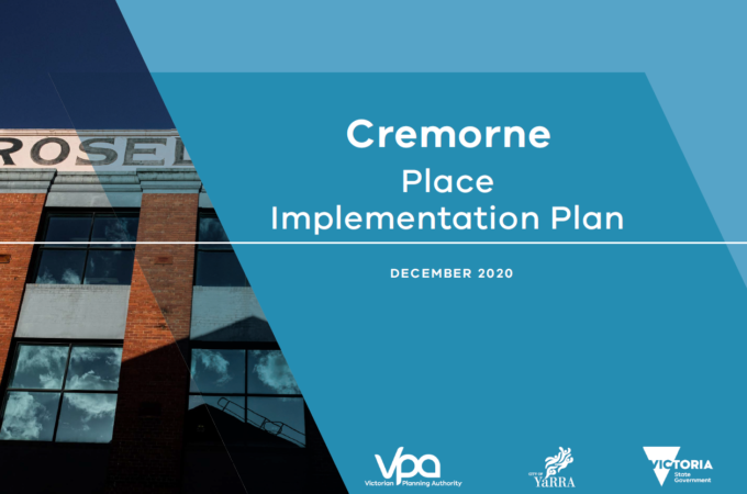 Cremorne Place Implementation Place cover thumbnail