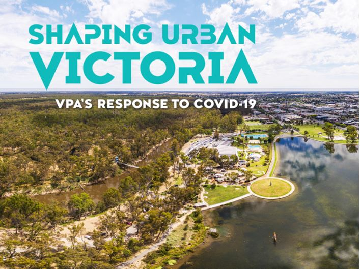 Cover of Shaping Urban Victoria July 2021