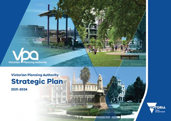 Front cover of the Strategic Plan 2021-2024